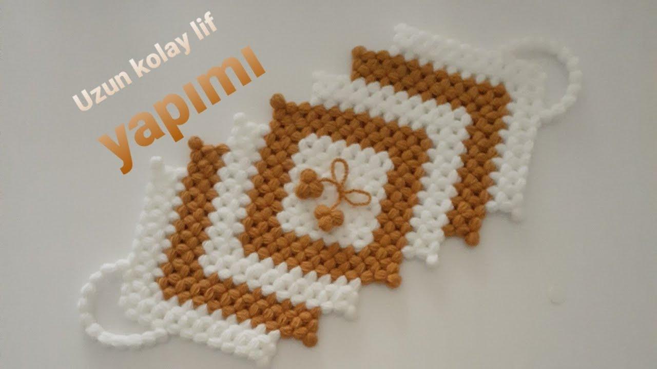 Tığ işi çok güzel bebek battaniyesi lif modeli crochet very beautiful knitting pattern