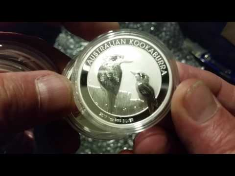 Unboxing more 2017 Kookaburra coins