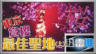 【乜都講】15個東京賞櫻的最佳聖地(上) | 15 Best places for Hanami in Tokyo Part.1 | 日本文化 | JinRaiXin | 迅雷進