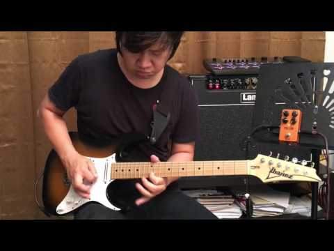 "Joe Satriani  -  ""Crystal Planet""  Cover By Pop Woravit"
