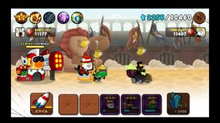 LINE RANGERS Battle (Ninja+Sally+James) rank34