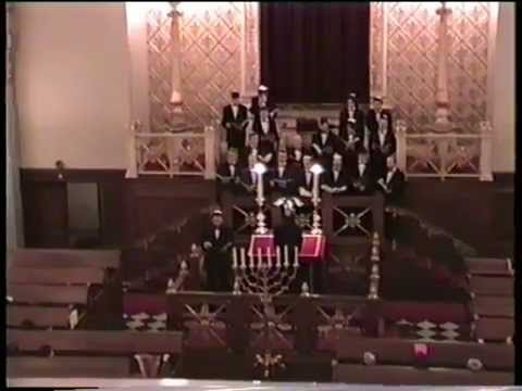 The Moscow Male Jewish Cappella, Kopenhagen, Concert At The Synagogue, 1995
