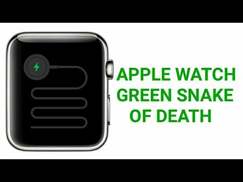 Apple Watch Green Snake Of Death - Fixed