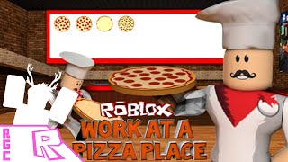 Roblox Gameplay Commentary - Work at a Pizza Place! [VD]