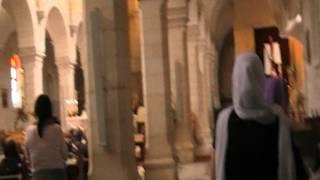 Иерусалим. Католическая служба.(, 2012-05-01T12:20:42.000Z)