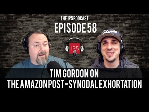 1P5 Podcast Ep. 58 - Tim Gordon on the Amazon Exhortation