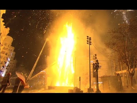 Nit de la Cremà 2017 - Las Fallas