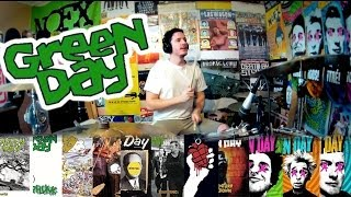 Green Day: A 5 Minute Drum Chronology - Kye Smith [HD]