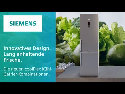 Die neuen coolFlex Kühl-Gefrier-Kombinationen - innovatives Design und lang anhaltende Frische