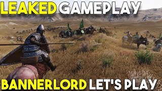 1 Hour of LEAKED Mount and Blade II Singleplayer Gameplay -Part 2-