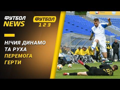 Нічия Динамо та Руха, перемога Герти | Футбол NEWS від 22.05.2020 (22:30)