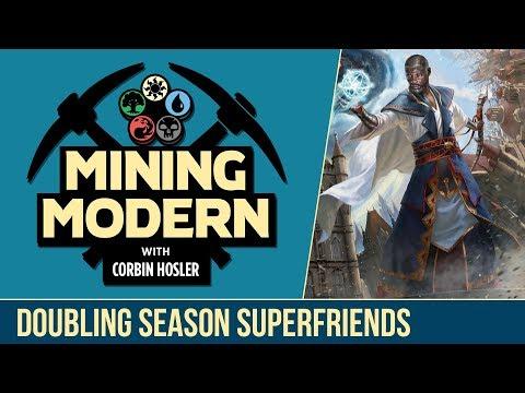 Doubling Season Superfriends   Mining Modern