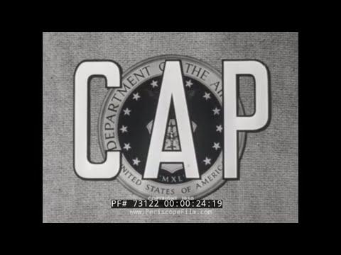 CIVIL AIR PATROL (CAP) IN THE 1950s  HISTORIC FILM  73122