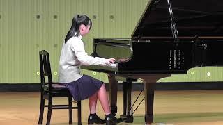 中学校最後の発表会(^^) 大好きな曲に挑戦しました.