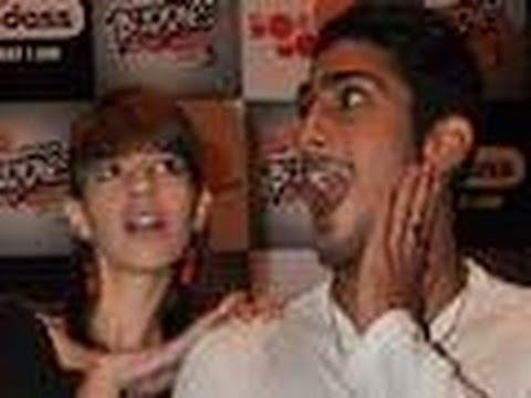 Prateik Babbar REFUSES to kiss Kalki