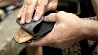 Repairing Soles on Women's Shoes by The Shoe Hospitals