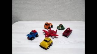 トランスフォーマーコレクション ミニボットチーム前編【TAKARA TRANSFORMERS AUTOBOTS Mini Vehicles Team】「YU-Kiのお部屋」
