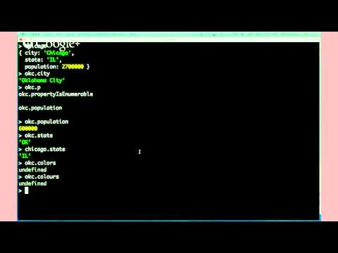 OK Coders 7: JavaScript Objects and Arrays