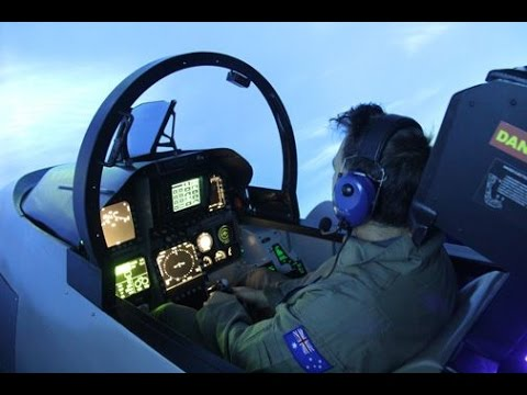 US Military MOST ADVANCED Flight Simulator for F-18 pilots