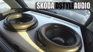 SKODA DStyleAudio/155+ С БАГАЖНИКА!