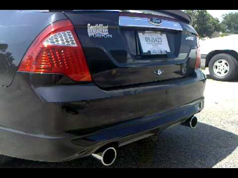 2010 Ford Fusion Sport Custom Magnaflow Exhaust Youtube