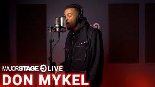 DON MYKEL - PHANTOM | MAJORSTAGE LIVE STUDIO PERFORMANCE