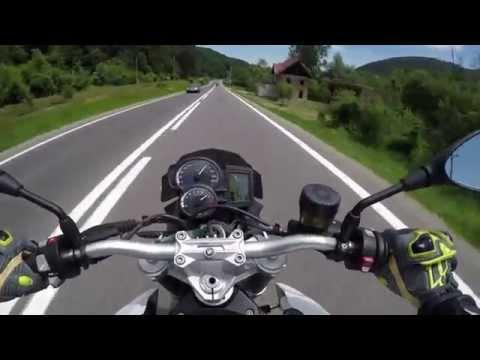 BMW Motorcycle Test Drive - BMW F800R