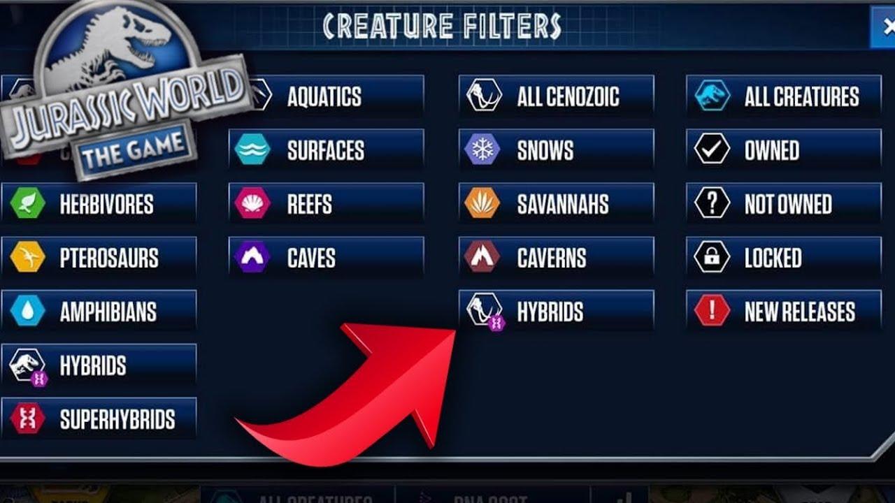 Cenozoic Hybrids Leak Mammotherium Jurassic World The Game Ep 220