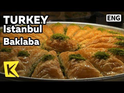 【K】Turkey Travel-Istanbul[터키 여행-이스탄불]터키 디저트, 바클라바/Istanbul/Baklaba/Dessert