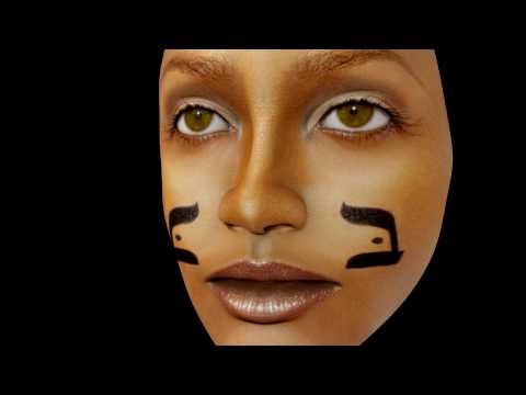Blender UV Face Map  Erykah Badu To Iris Tricia Vessey