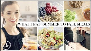 WHAT I EAT | 🍁 Early Fall Meals that are GLUTEN FREE! 🍂 | Natalie Bennett