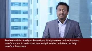 Accenture - Using analytics to drive business transformation