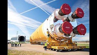 A HUMANIDADE NA LUA em 2024! COM O NOVO FOGUETE DA NASA
