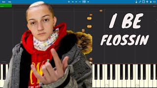 The Backpack Kid - Flossin Piano Tutorial