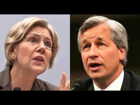 Elizabeth Warren: Jamie Dimon Types Fear Her Because She Exposes Their Fraud