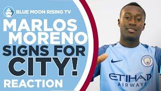 Marlos moreno signs for man city! | reaction