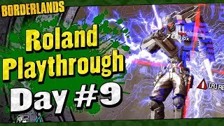 Borderlands | Roland Playthrough Funny Moments And Drops | Day #9