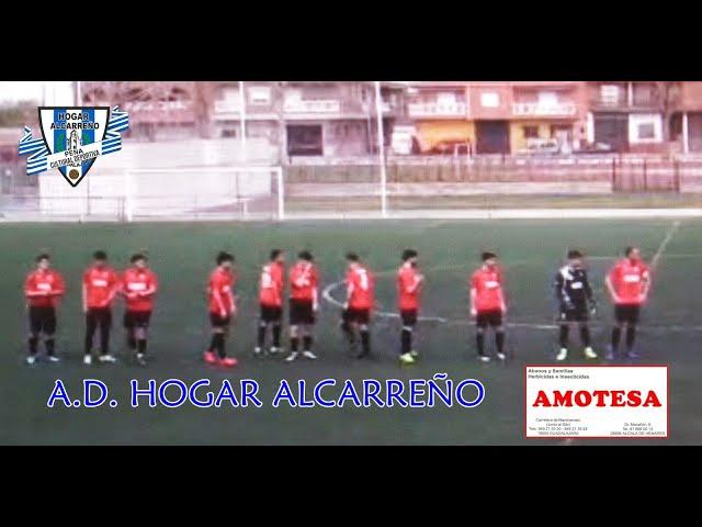 Gol de Mario Escamilla .Patrocinio 2-1 Hogar Alcarreño .10 abril 2021 . Peña Hogar Alcarreño.AMOTESA