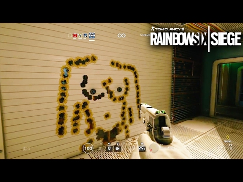 Rainbow Six Siege - Random Moments #22 (Playing Pool, Funny Gun Drawings!)