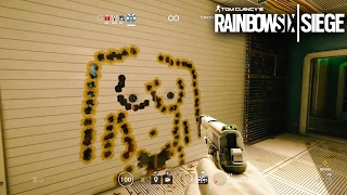 Rainbow Six Siege - Random Moments #22 (Playing Pool, Funny Gun Drawings!)