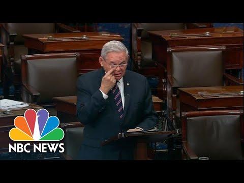 Senator Breaks Down Over Armenian Genocide Bill Passing  NBC News