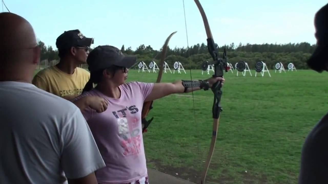 Archery Biking At Sydney Olympic Park