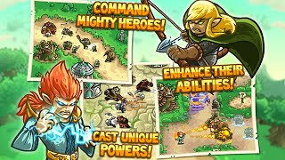 Kingdom Rush Origins: Starlight Rivers  - Walkthrough Gameplay