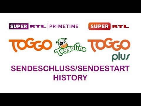 Super RTL/TOGGO/TOGGOLINO/TOGGOplus Sendeschluss/Sendestart History (1997-2020)