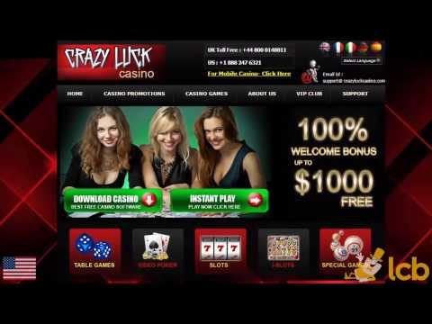 Crazy Luck Casino Video Review