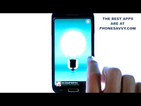Tiny Flashlight + LED - Android App Review - Best Flashlight App For Android