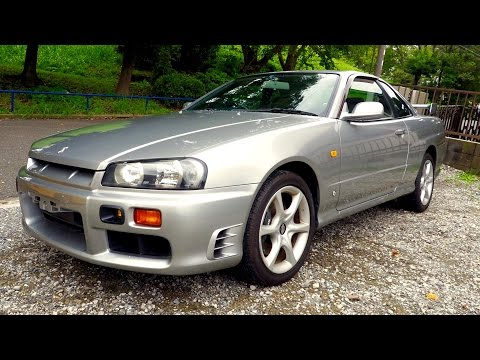 1998 Nissan Skyline R34 25GT-T (Canada Import) Japan Auction Purchase Review