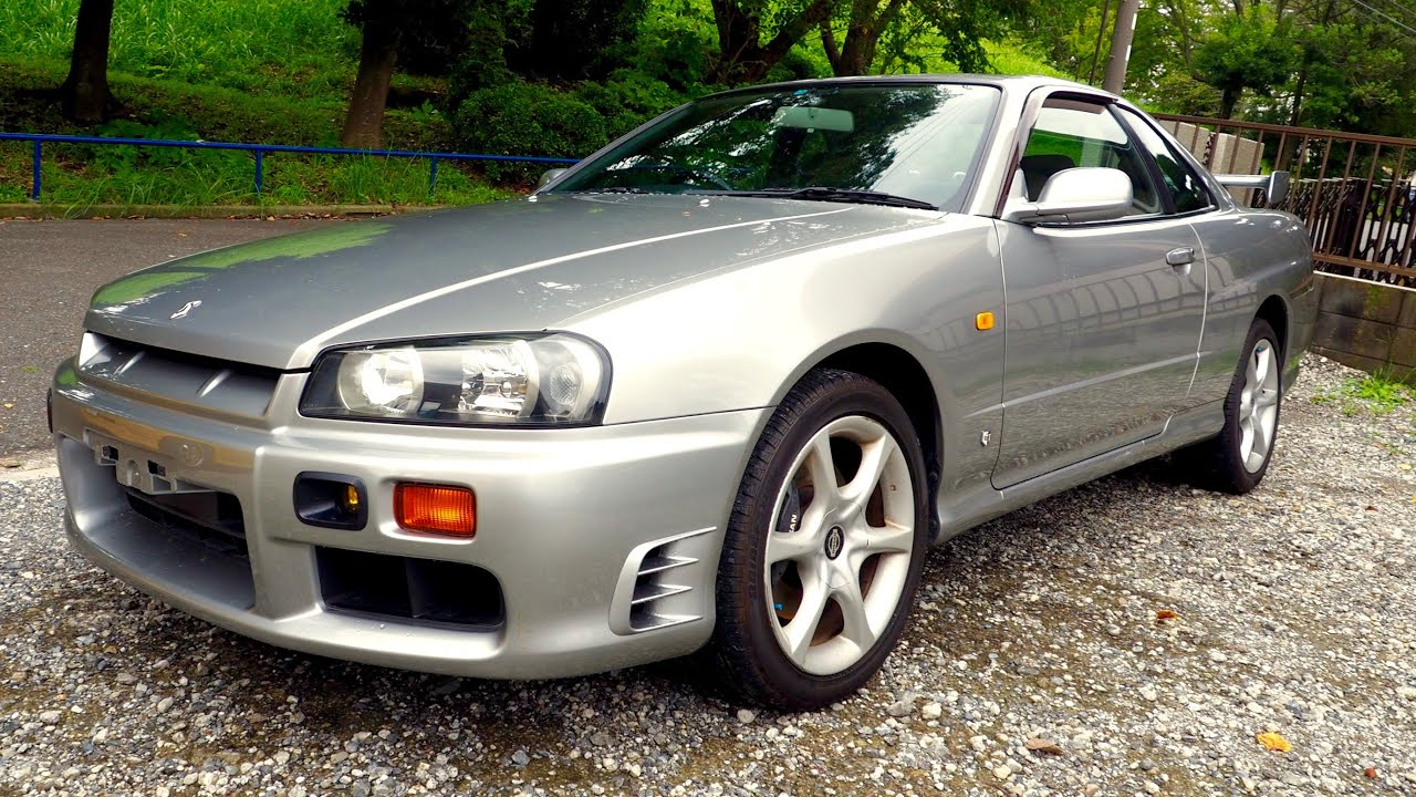 1998 nissan skyline r34 25gt t canada import japan auction purchase review youtube. Black Bedroom Furniture Sets. Home Design Ideas