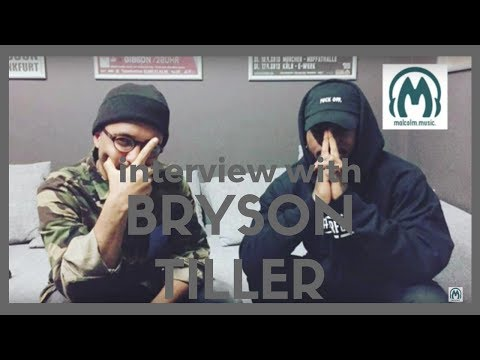 Bryson Tiller Interview: His relationship with Justin Bieber, Drake & Kylie Jenner | MalcolmMusic