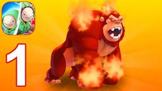 मॉन्स्टर लीजेंड्स: ब्रीड एंड मर्ज हीरोज बैटल एरिना - गेमप्ले वॉकथ्रू पार्ट 1 (एंड्रॉइड, आईओएस) screenshot 1